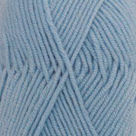 DROPS Merino Extra Fine Ljusblå Uni Colour 19