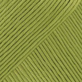 DROPS Muskat Äppelgrön Uni Colour 53