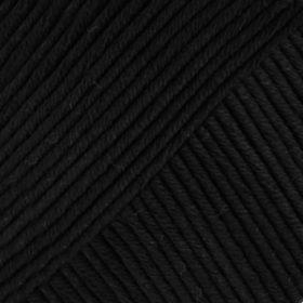 DROPS Muskat Svart Uni Colour 17