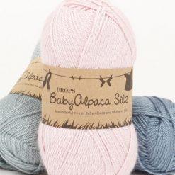Drops BabyAlpaca Silk 50g