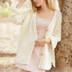 Creamy Spring Jacket