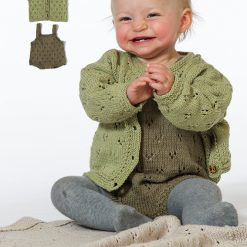 Babyset med kofta, byxa och filt 92166