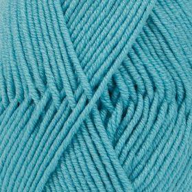DROPS Merino Extra Fine Sjöblå Uni Colour 43