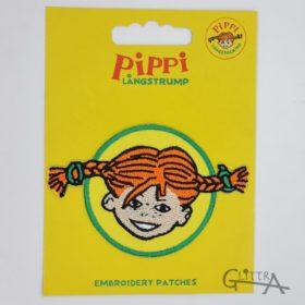Tygmärke Pippi Långstrump Gul